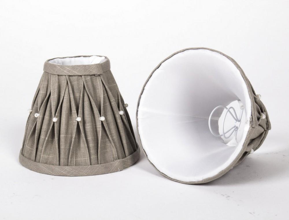 kiemmschirm lampenschirm f r kronleuchter form rund 14 cm. Black Bedroom Furniture Sets. Home Design Ideas