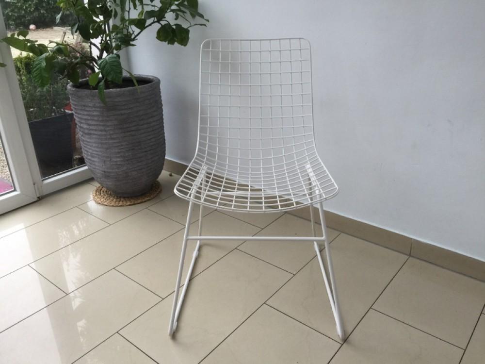 stuhl metall wei esszimmerstuhl metall stuhl wei. Black Bedroom Furniture Sets. Home Design Ideas