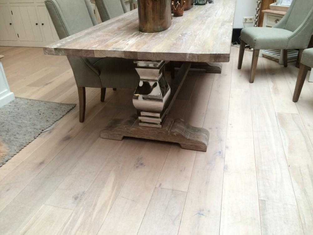 Klostertisch esstisch aus massivholz tisch im for Tisch landhausstil