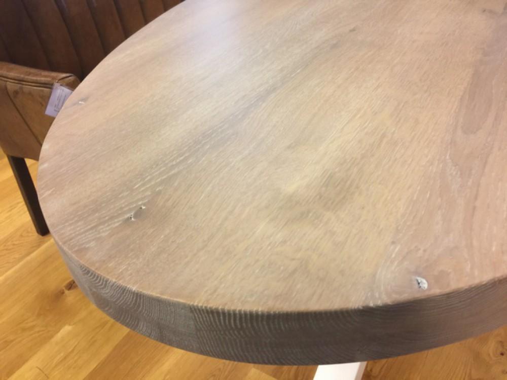 Ovaler Esstisch Holz ~ Esstisch oval eiche tischplatte tisch oval massivholz länge cm