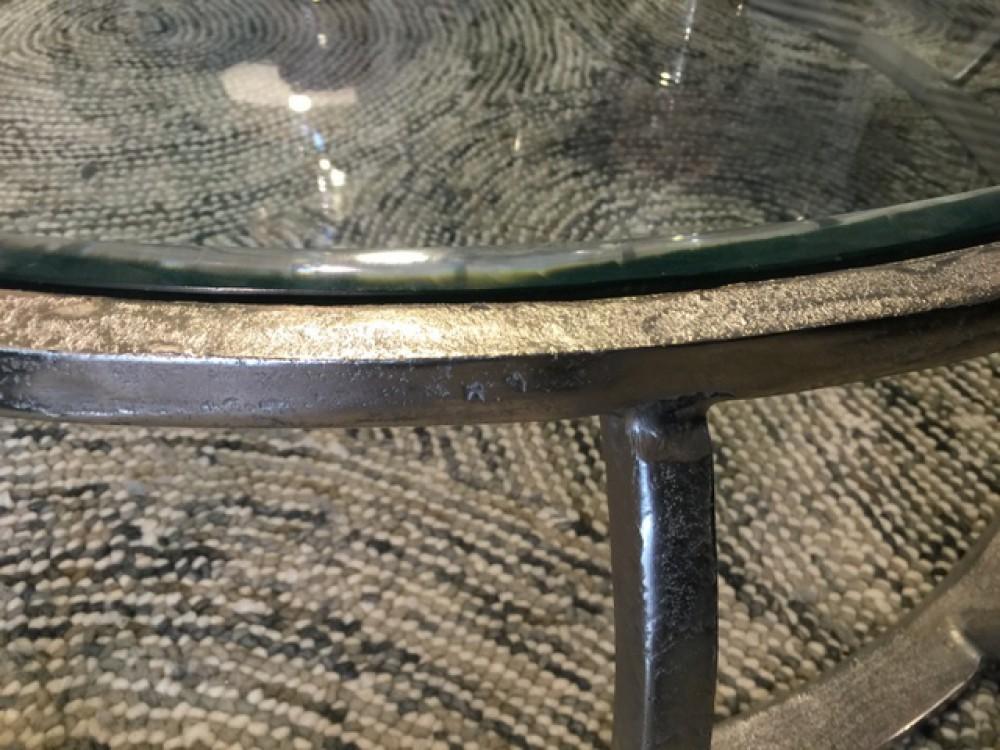 couchtisch silber glas metall tisch metall und glas. Black Bedroom Furniture Sets. Home Design Ideas