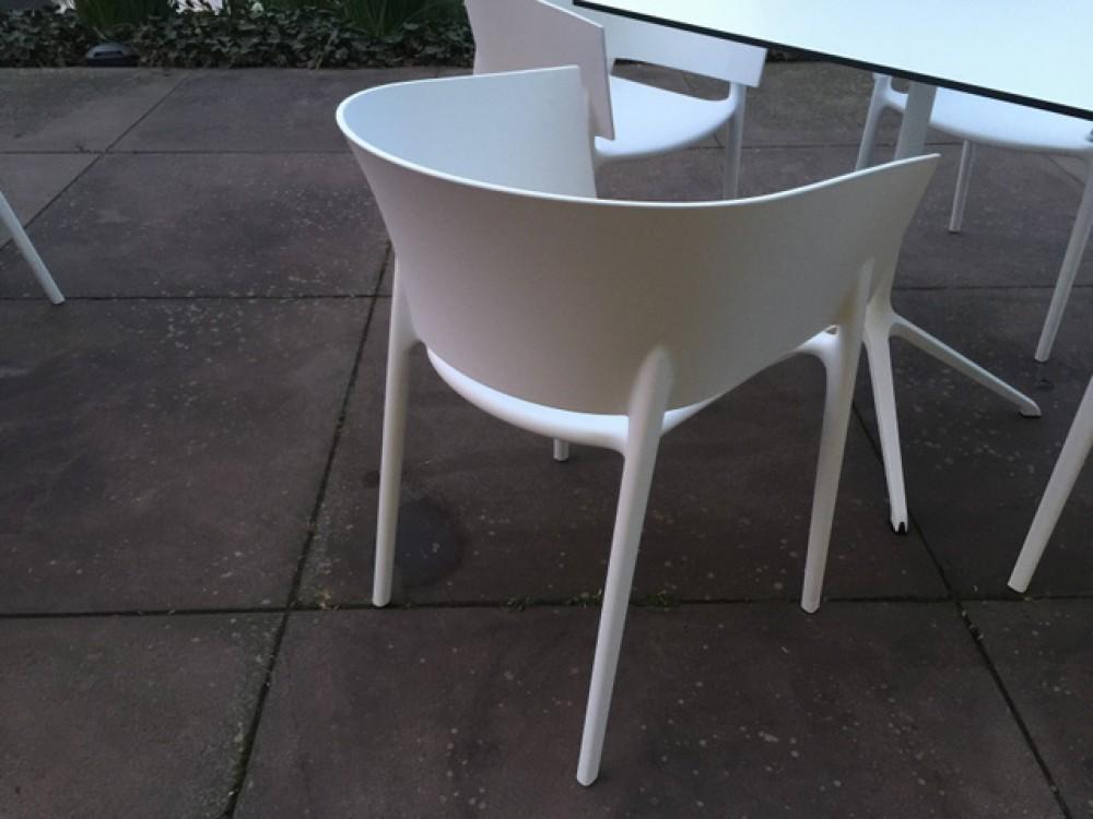 Gartenstuhl Weiß Design Stuhl