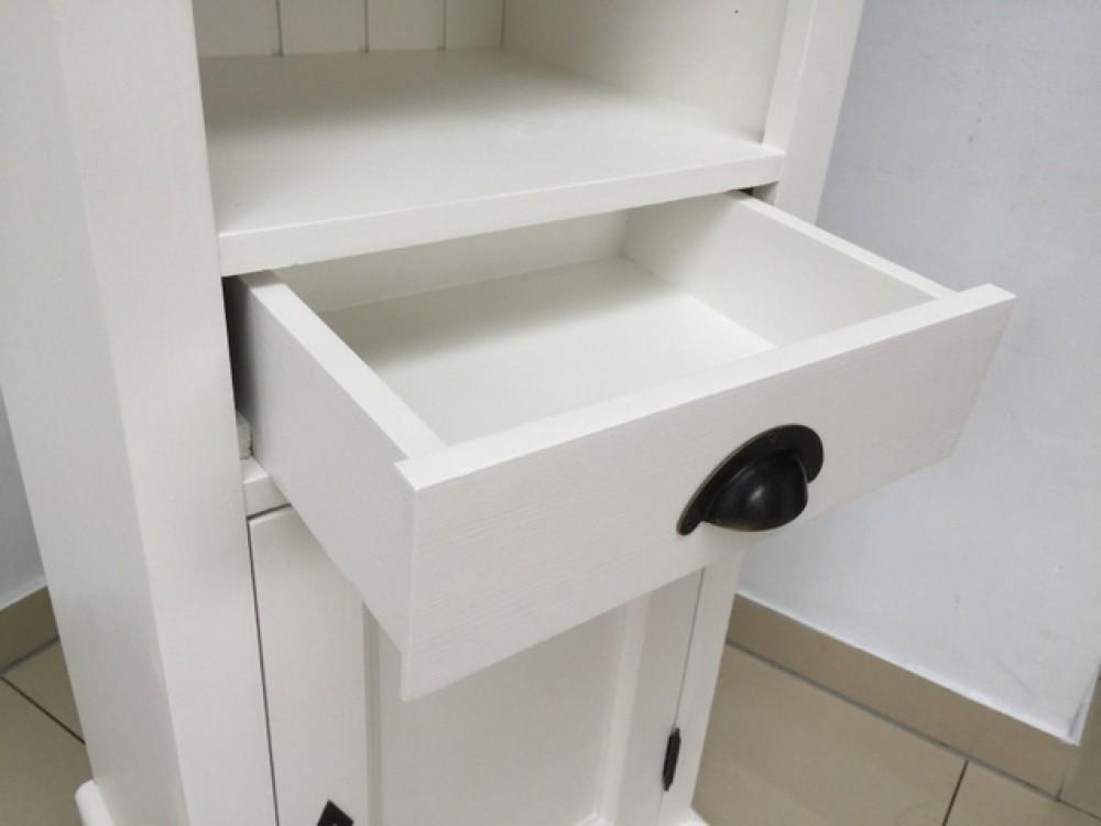 Badezimmerschrank weiß Landhausstil, Regal weiß Landhaus, Schrank ...