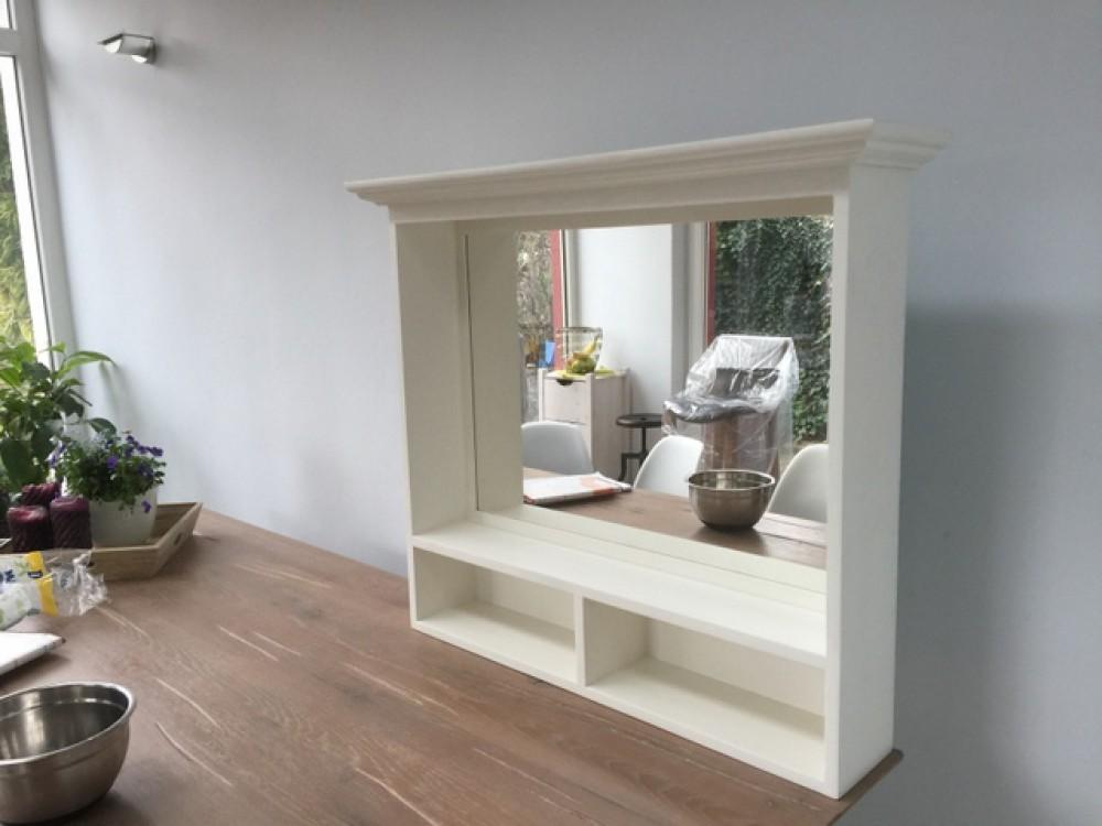 spiegel wei massivholz spiegel im landhausstil ma e. Black Bedroom Furniture Sets. Home Design Ideas