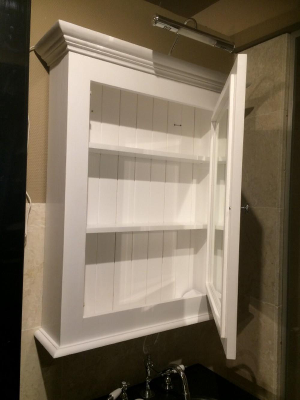 waschtisch im landhausstil farbe wei anthrazit breite 72 cm. Black Bedroom Furniture Sets. Home Design Ideas