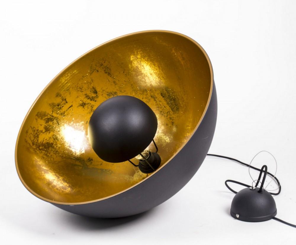 pendelleuchte aus metall h ngeleuchte farbe schwarz gold durchmesser 53 cm. Black Bedroom Furniture Sets. Home Design Ideas