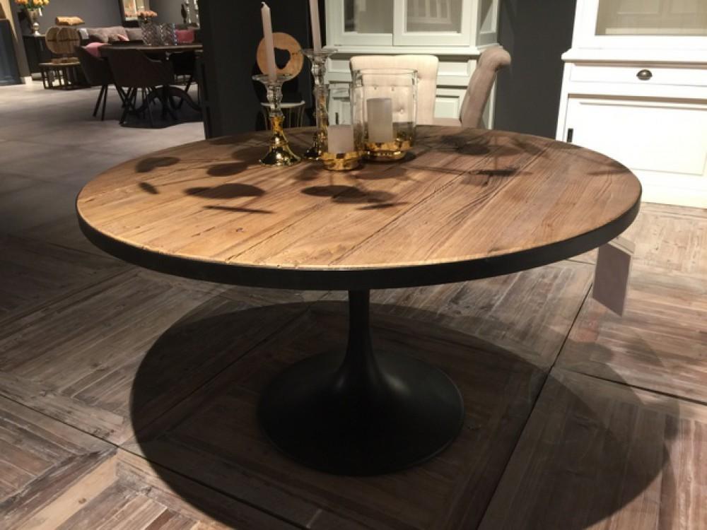 tisch rund schwarz esstisch schwarz metall durchmesser 140 cm. Black Bedroom Furniture Sets. Home Design Ideas