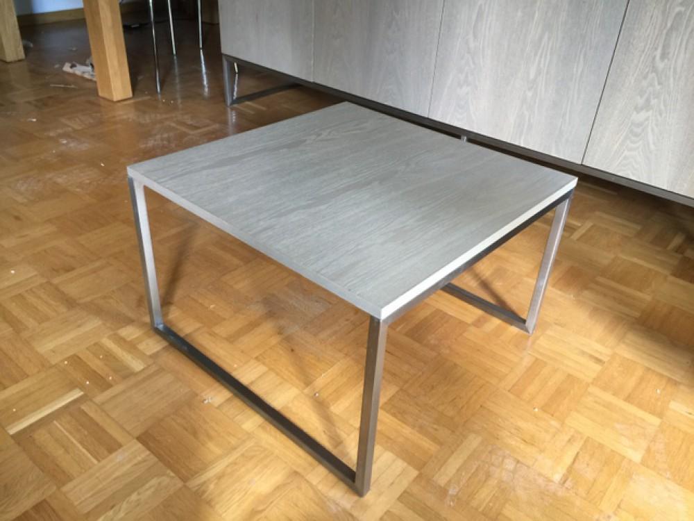 Beistelltisch grau couchtisch grau ma e 60x60 cm for Couchtisch 60x60