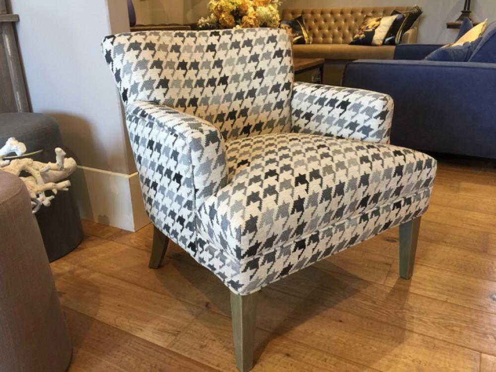 sessel kariert sessel gepolstert landhausstil. Black Bedroom Furniture Sets. Home Design Ideas