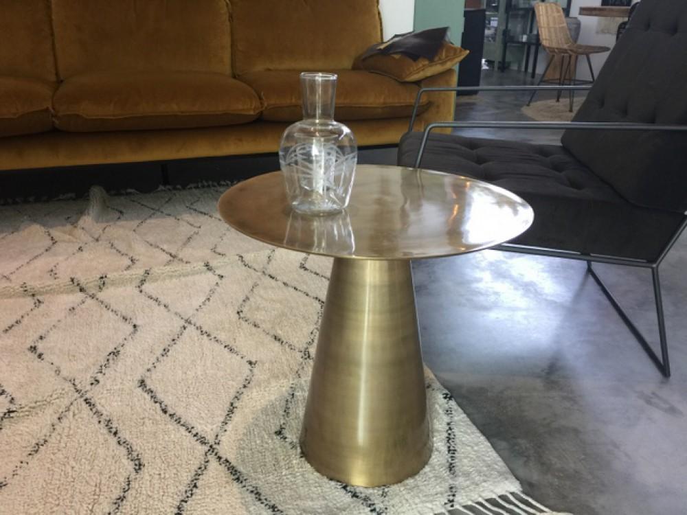 Beautiful Elegant Rund Metall Gold Goldfarbe Metall Tisch Rund Gold  Durchmesser Cm With Rund Metall With Nordal Gartenstuhl
