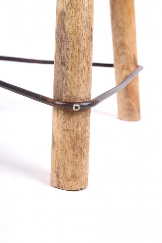 hocker gepolstert h henverstellbar im industriedesign. Black Bedroom Furniture Sets. Home Design Ideas