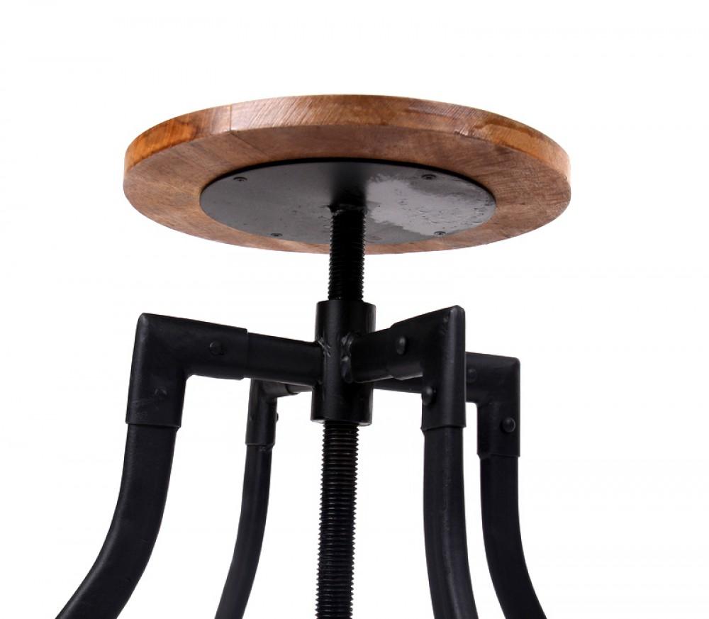 Barhocker verstellbar best barhocker verstellbar braun for Barhocker verstellbar leder