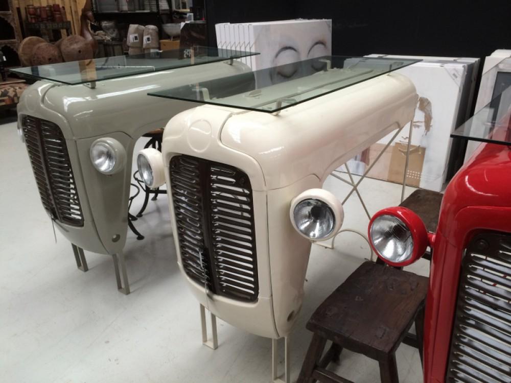bartisch creme theke bartheke bartisch im industriedesign h he 115 cm bartheken tresen. Black Bedroom Furniture Sets. Home Design Ideas
