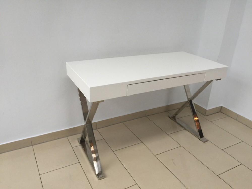 Tisch wei hochglanz konsole wei wandtisch wei for Schreibtisch breite 120