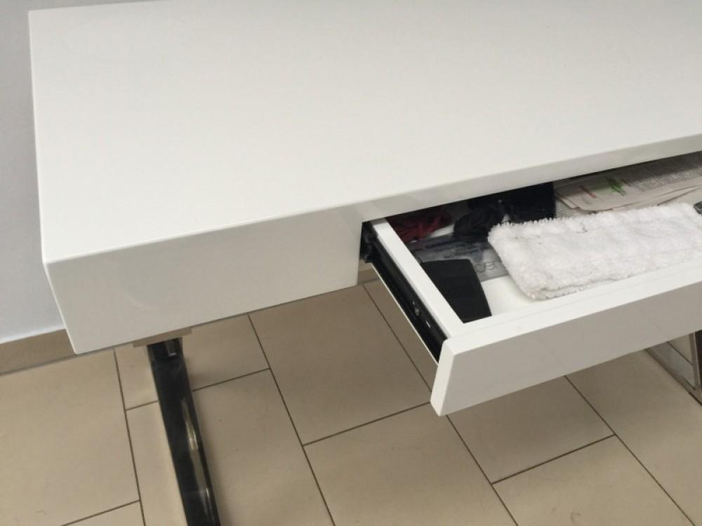 tisch wei hochglanz konsole wei wandtisch wei. Black Bedroom Furniture Sets. Home Design Ideas
