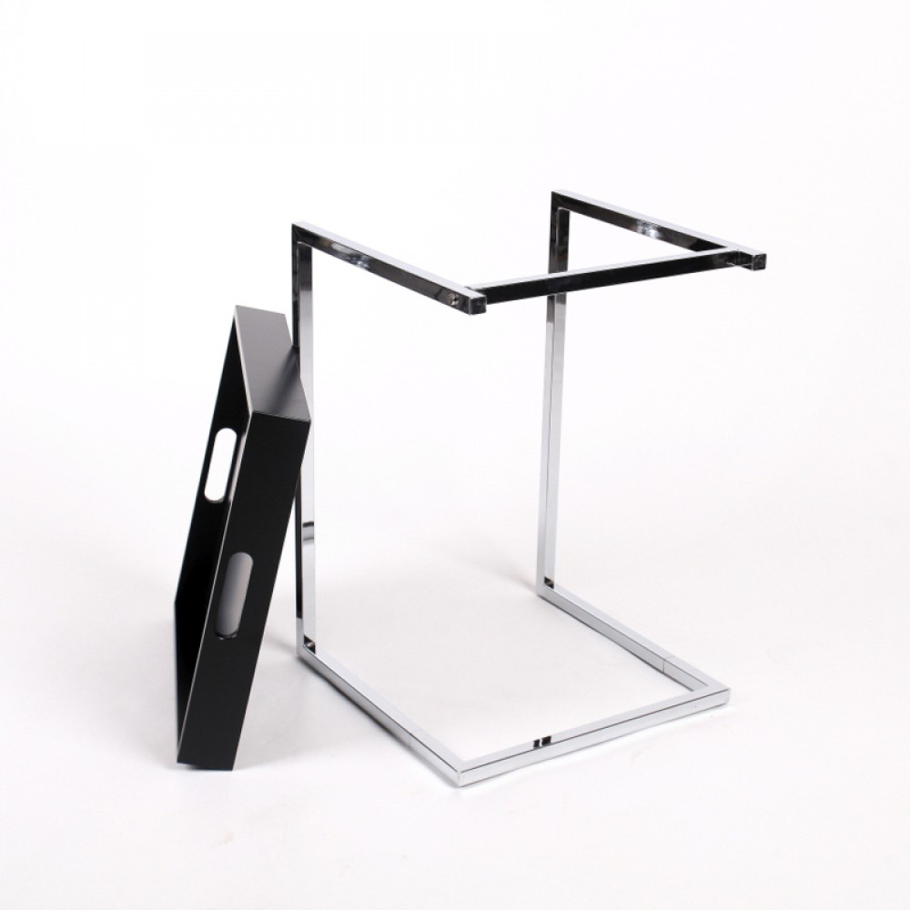 tablett tisch schwarz beistelltisch modern farbe schwarz. Black Bedroom Furniture Sets. Home Design Ideas
