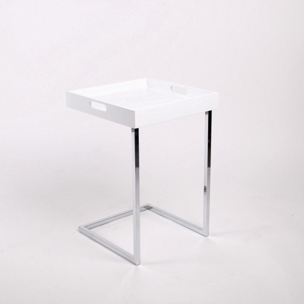 Beistelltisch Modern tablett tisch weiß beistelltisch modern