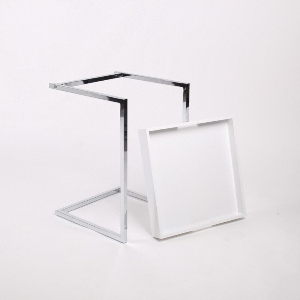 tablett tisch wei beistelltisch modern. Black Bedroom Furniture Sets. Home Design Ideas