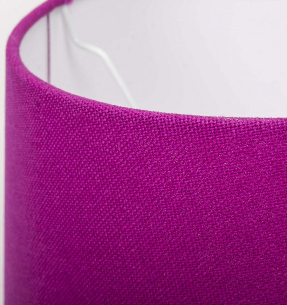 lampenschirm f r tischleuchte form rund farbe pink durchmesser 20 cm. Black Bedroom Furniture Sets. Home Design Ideas