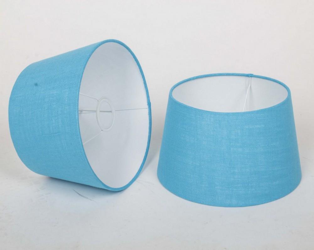 lampenschirm f r tischleuchte form rund farbe t rkis durchmesser 20 cm. Black Bedroom Furniture Sets. Home Design Ideas
