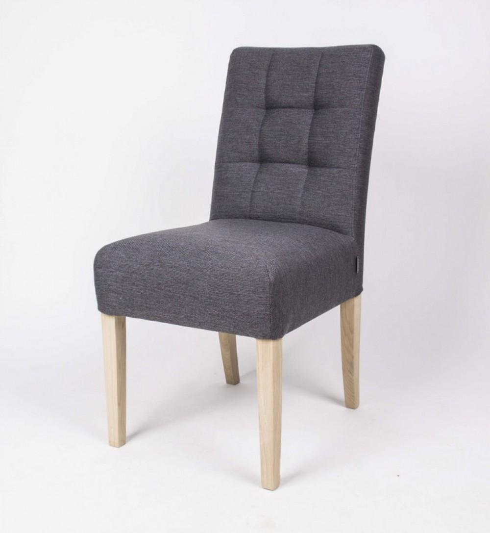 Klassischer stuhl gepolstert farbe grau for Stuhl gepolstert
