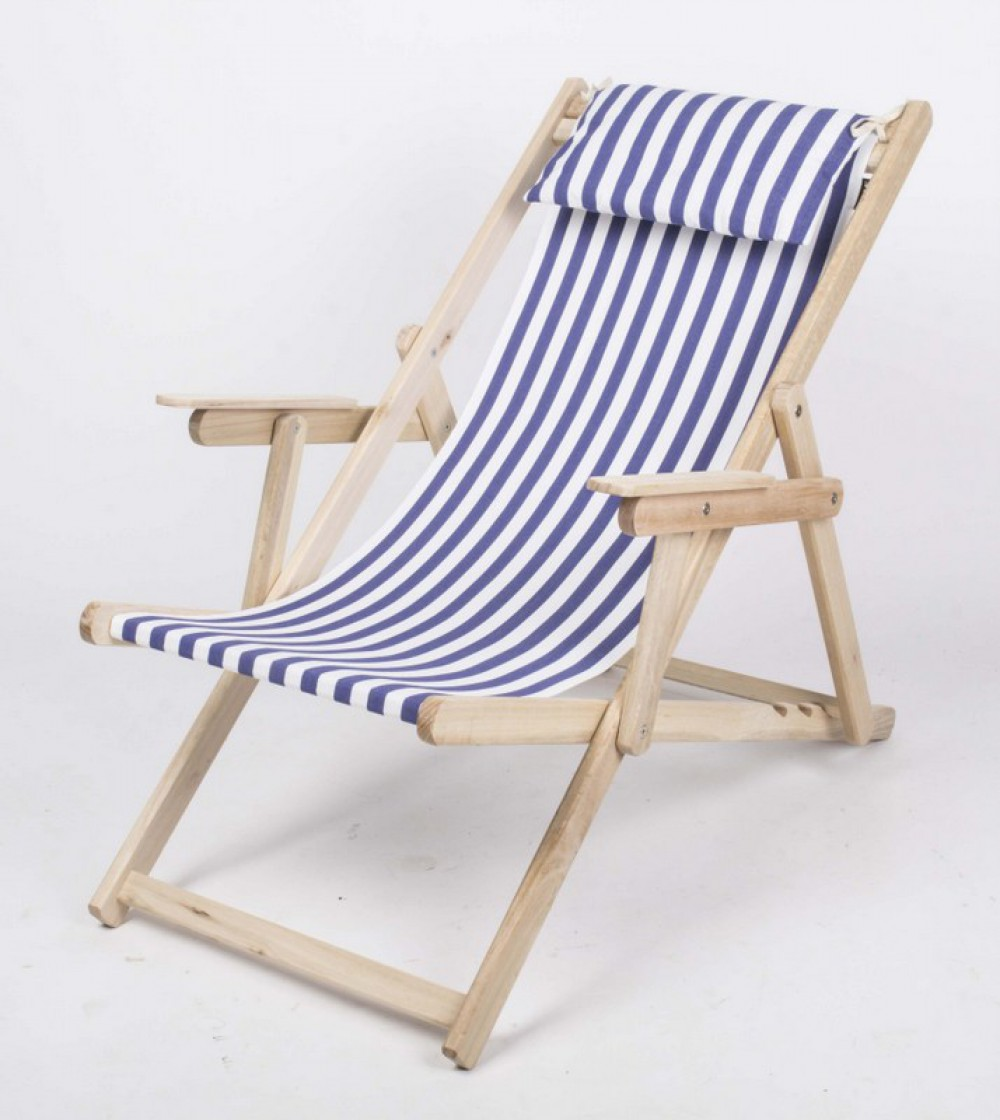 nackenkissen blau wei gestreift f r liegestuhl nackenkissen 100 baumwolle. Black Bedroom Furniture Sets. Home Design Ideas