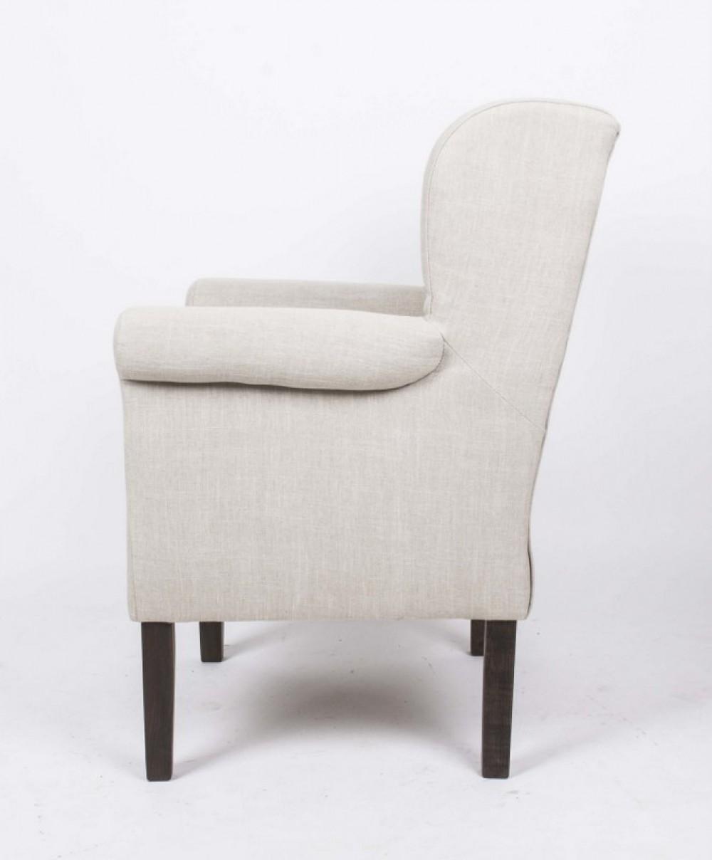 sessel kompakt ohrensessel im landhausstil farbe leinen. Black Bedroom Furniture Sets. Home Design Ideas