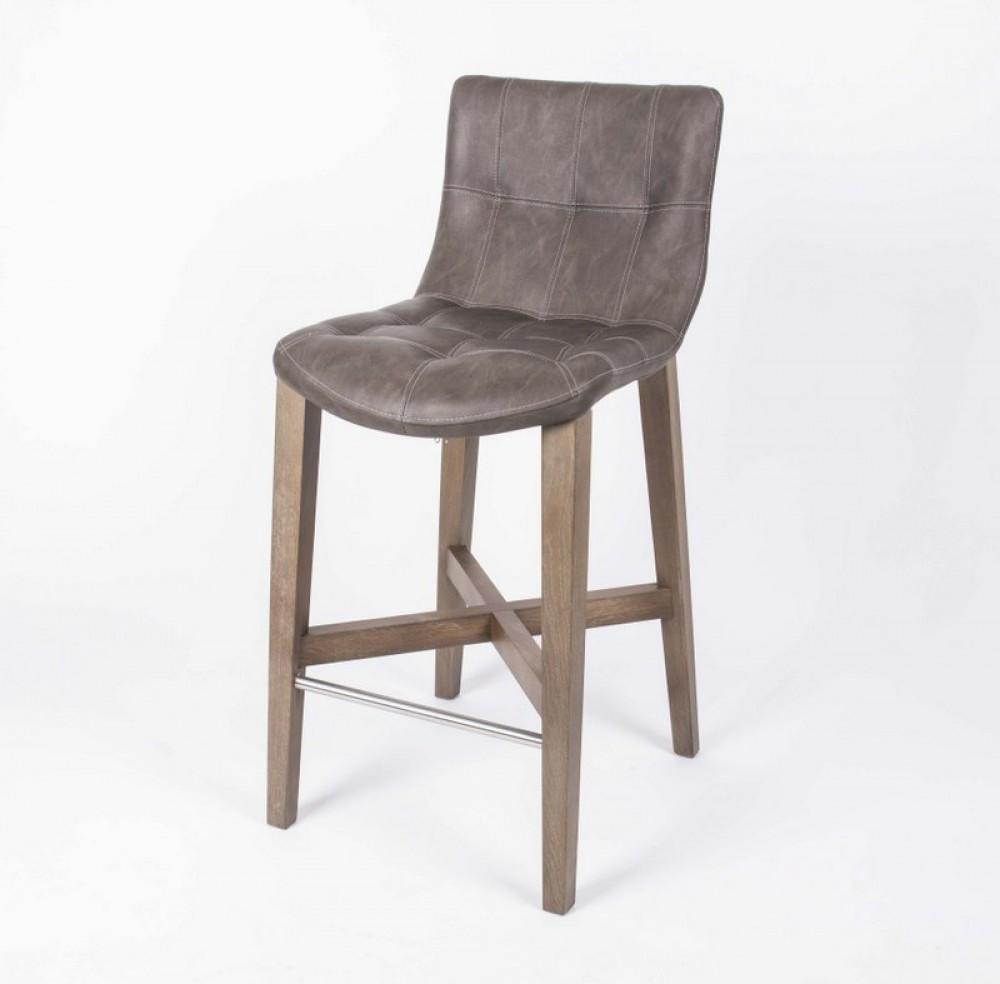 barstuhl taupe barhocker gepolstert taupe tresenhocker taupe sitzh he 64 cm. Black Bedroom Furniture Sets. Home Design Ideas