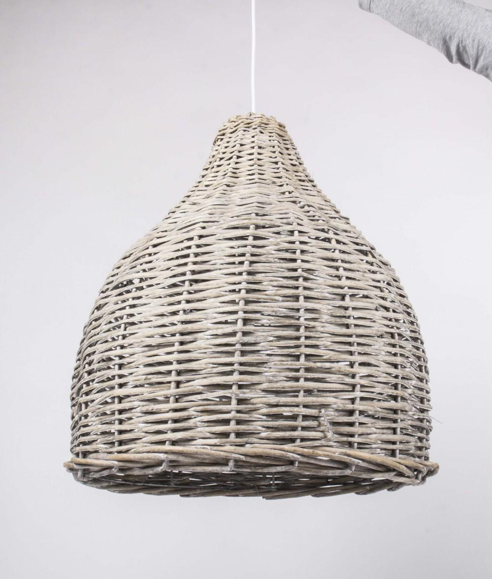 h ngeleuchte rattan pendelleuchte rattan lampenschirm. Black Bedroom Furniture Sets. Home Design Ideas
