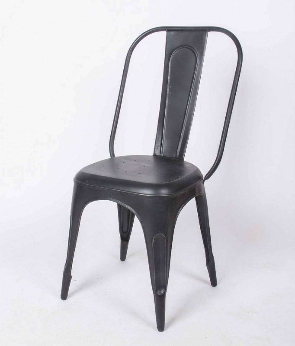 Stuhl aus metall im industriedesign for Stuhl industriedesign