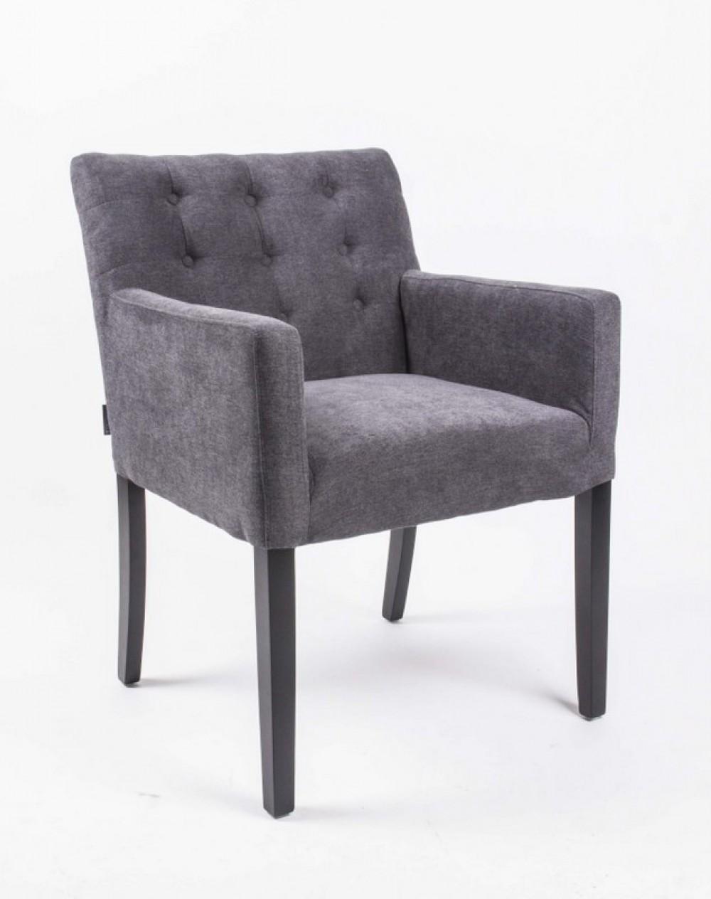 Esszimmerstühle modern mit armlehne  Stuhl Mit Armlehne Grau | Nabcd