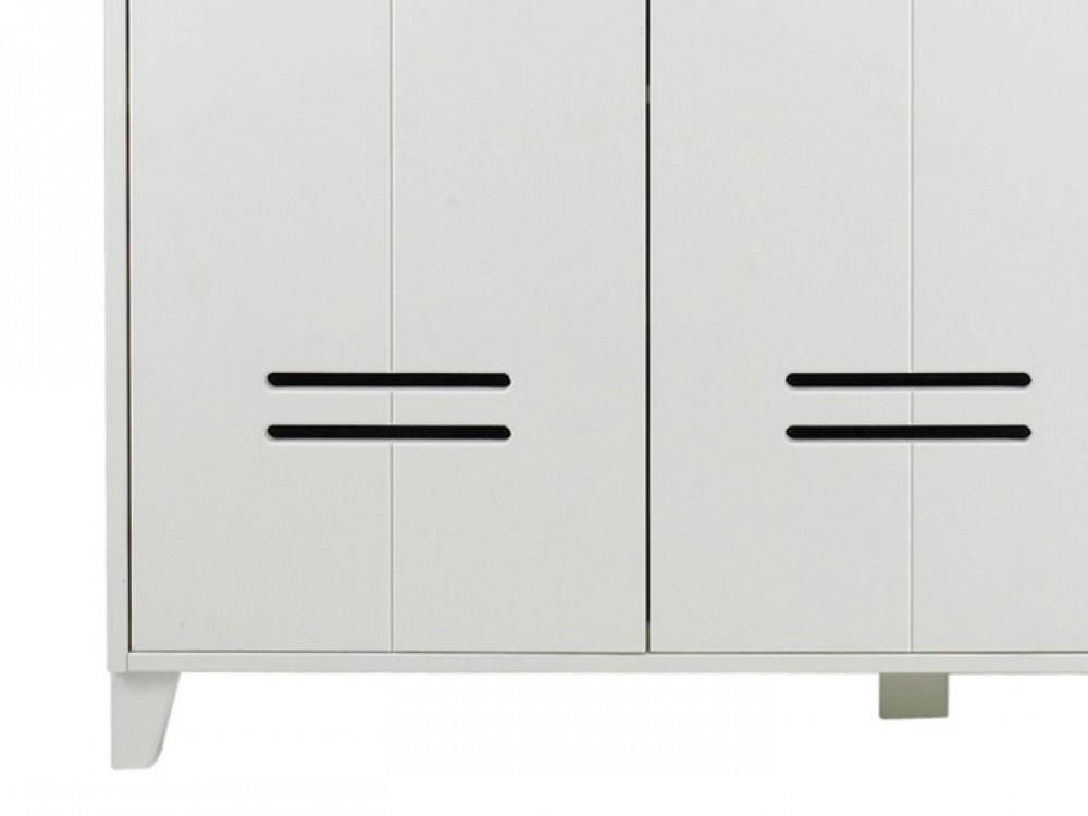 kleiderschrank wei schrank breite 123 cm. Black Bedroom Furniture Sets. Home Design Ideas
