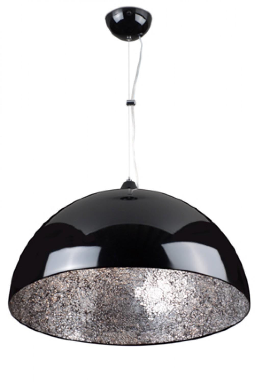 h ngeleuchte schwarz silber spiegel pendelleuchte durchmesser 60 cm. Black Bedroom Furniture Sets. Home Design Ideas
