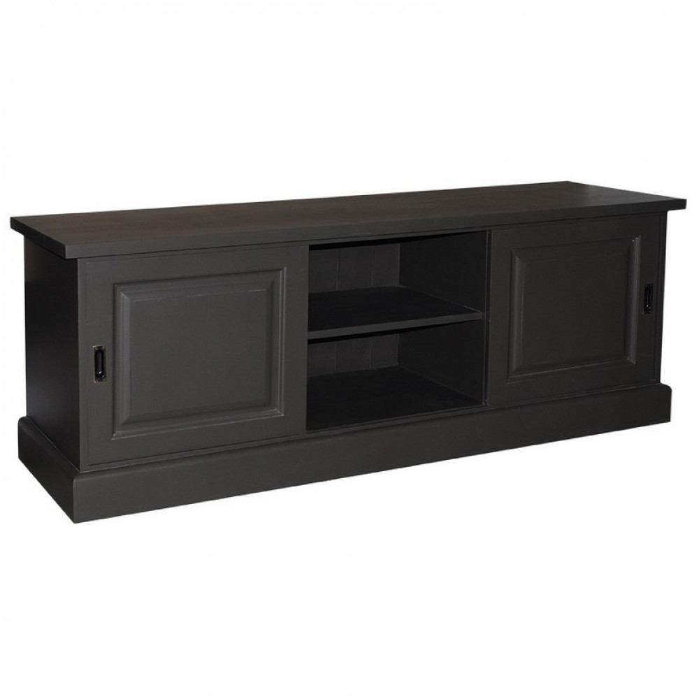 fernsehschrank anthrazit im landhausstil lowboard landhaus in f nf farben tv schrank anthrazit. Black Bedroom Furniture Sets. Home Design Ideas