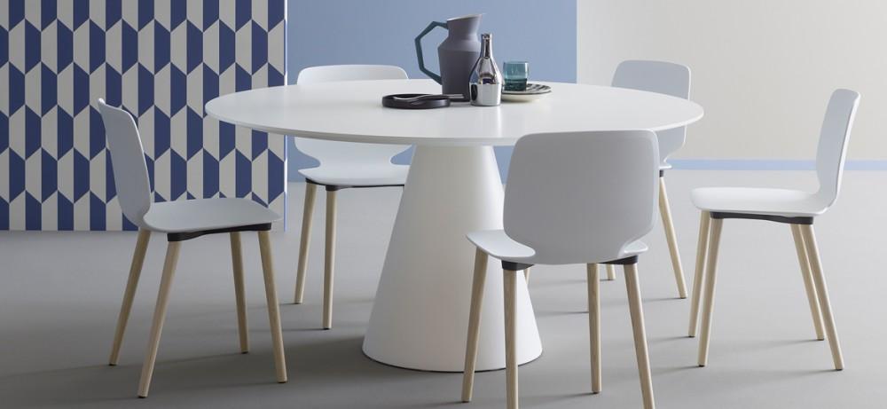 Esstisch modern rund  Esstisch rund modern weiß, Tisch rund, Tisch weiß rund ...