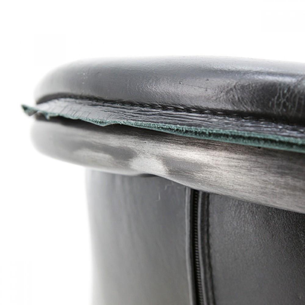 Freischwinger stuhl schwarz industriedesign stuhl leder for Industriedesign stuhl