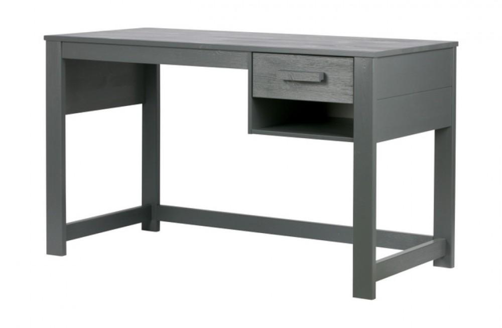 schreibtisch grau schreibtisch massivholz grau tisch. Black Bedroom Furniture Sets. Home Design Ideas