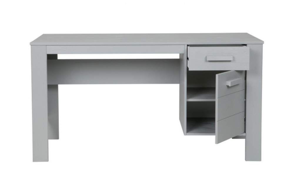 Tisch grau holz schreibtisch grau schreibtisch for Schreibtisch in grau
