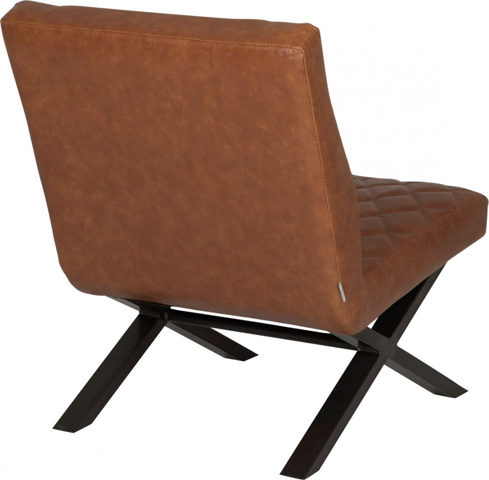 Lounge sessel braun stoff  Sessel cognac Industriedesign, Sessel Industrie braun Metall, Lounge ...