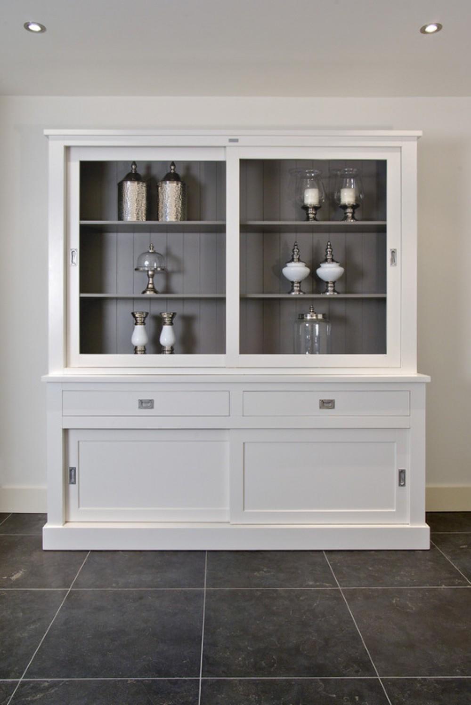 sideboard wei im landhausstil anrichte wei breite 160 cm. Black Bedroom Furniture Sets. Home Design Ideas