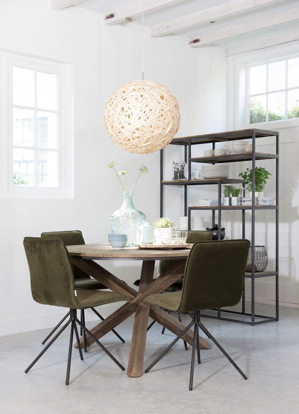 runder tisch holz massiv esstisch rund tisch im landhausstil durchmesser 160 cm. Black Bedroom Furniture Sets. Home Design Ideas