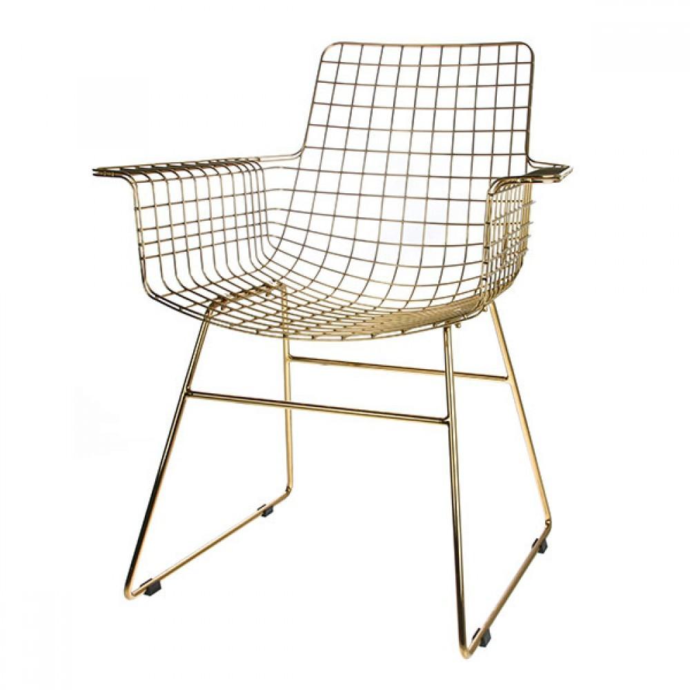 Genial Metall Stuhl Dekoration Von