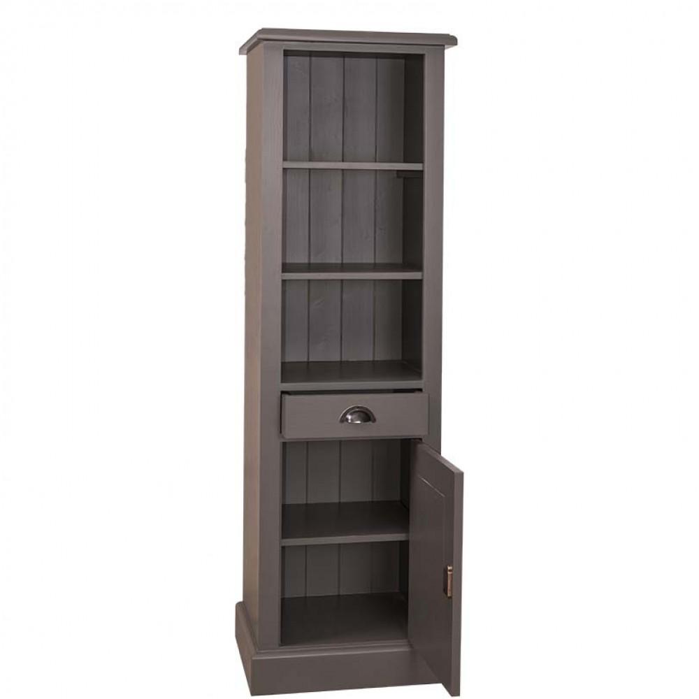 badezimmerschrank im landhausstil regal landhaus schrank in vier farben. Black Bedroom Furniture Sets. Home Design Ideas