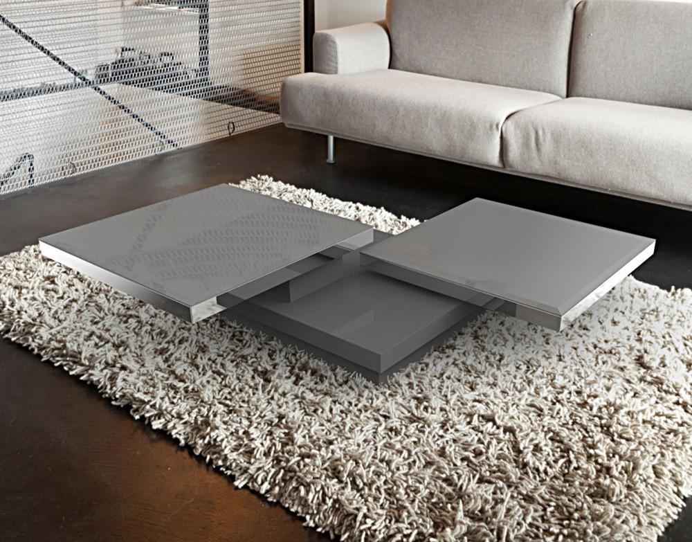 Couchtisch grau glas latest designer couchtisch barto - Roller glastisch ...