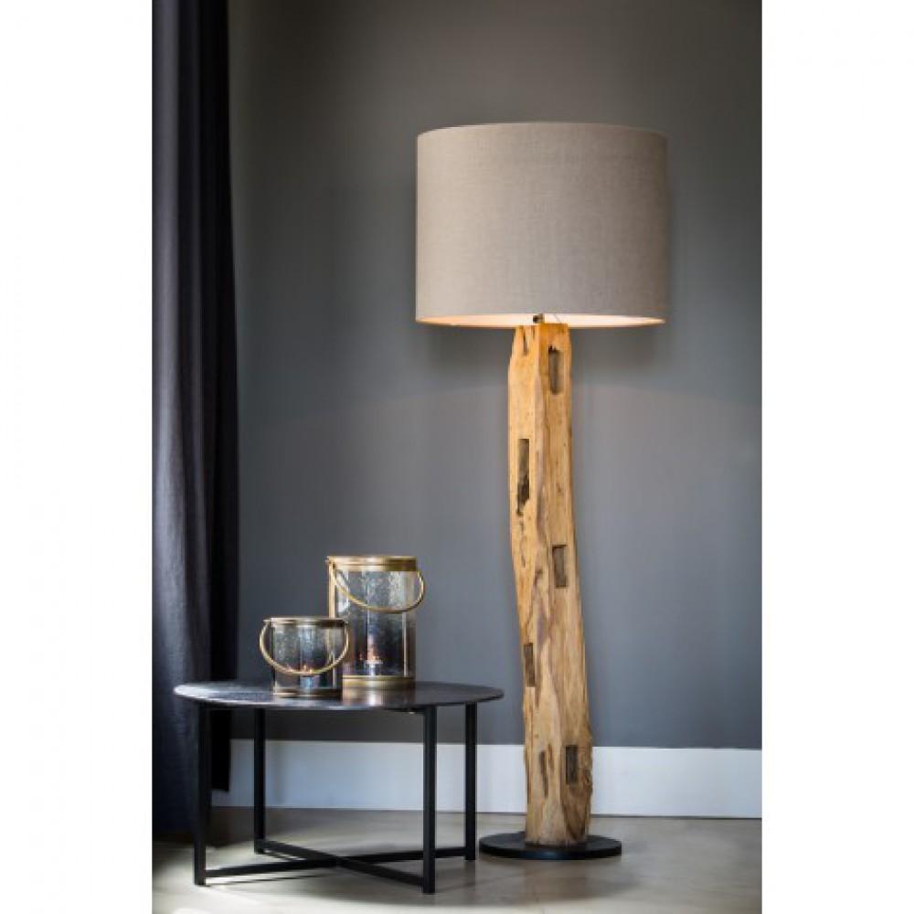 stehlampe holz lampenschirm stehleuchte holz lampenschirm durchmesser 35 60 cm. Black Bedroom Furniture Sets. Home Design Ideas