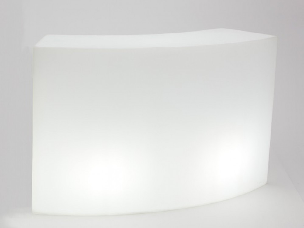 bar theke wei kunststoff outdoor bartresen mit beleuchtung bar wei outdoor breite 165 cm. Black Bedroom Furniture Sets. Home Design Ideas