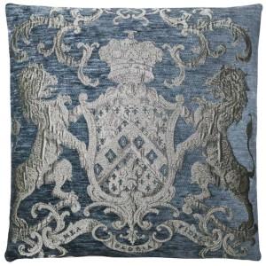Dekokissen, Kissen, Farbe grau-silber, Größe 55 x 55 cm