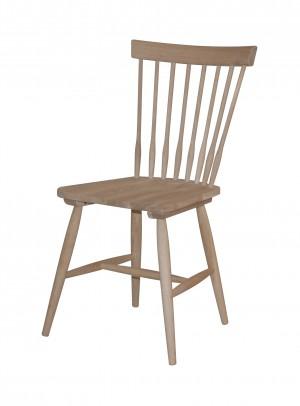 Stuhl aus Massivholz, Farbe Natureiche