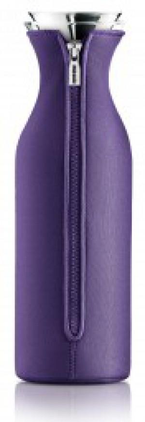 Kühlschrank Karaffe 1,4 L Glas transparent Kunststoff violett