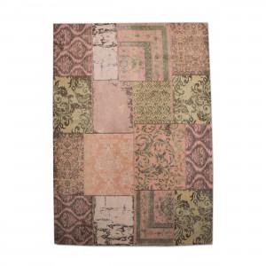 Teppich Patchwork orange, Größe 170 x 240 cm